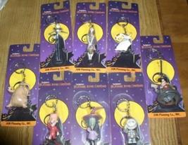 Nightmare Before Christmas set of 8 key chain Japan Jun Planning - $99.99
