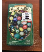 Kids Collection Deluxe Marbles Tin Box Over 160 Marbles - $5.00