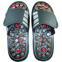 Massage Sandals Slippers Health Reflexology Acupressure Massager Size 40 41 - $117.59