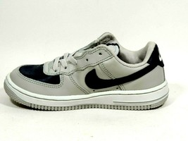 Nike Force 1 PS Neutral Grey Blue Sneakers Leather Kids 308936 041 SZ 12... - $9.99