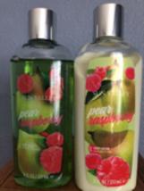Melaleuca Sun Valley Pear Raspberry Body Wash Lotion Sealed 8 Oz Bottles - $14.50