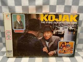 KOJACK Vintage Board Game 1975 Incomplete Missing Buildings - $9.40