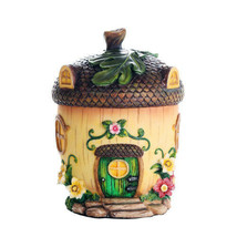 Pacific Giftware Miniature Fairy Garden of Enchantment Fairy Acorn Cottage - $19.79