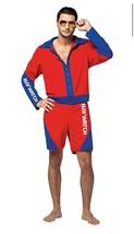Halloween Rasta Imposta Baywatch Male Lifeguard Suit Adult Costume Standard - $98.99