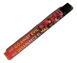 Hem Go Away Evil Incense Sticks (Hex Tubes-20 Sticks Per Tube) - $4.95