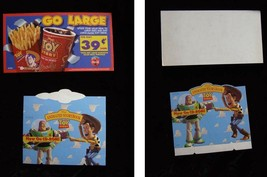 Disney Toy Story Display Lot 1990s Coca Cola Coke Burger King Animated S... - $19.99