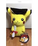 """NEW 2016 Graduation Pokemon Pikachu 10"""" Plush Toy Doll Cute Gift !! - $69.99"""