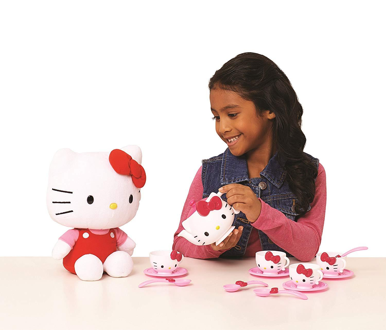 Hello Kitty Tea Time Set—Everything Needed to Create a Wonderful Tea Party