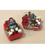 Hershey Kiss Chocolate World Lot of 2 Pull Back Cars Christmas Sled Toys... - $9.99