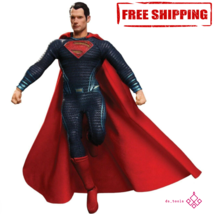 Superman Action Figure Toys 19cm Collective Dawn Mezco High Quality With... - $77.35