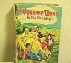 The Bobbsey Twins In The Country Vintage Laura Lee Hope Childrens Book  - $6.88