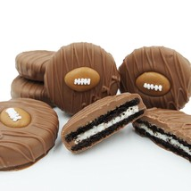 Philadelphia Candies Milk Chocolate Covered OREO® Cookies, Football Gift 8 Ounce - $15.79