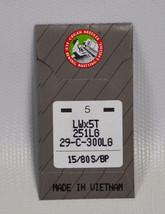 Organ Blindstitch Machine à Coudre Aiguilles 251LGBP-80 - $9.37