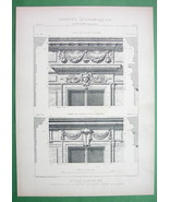 ARCHITECTURE KING LOUIS XIII STYLE: Paris Aumont Residence on Rue de Jou... - $9.45