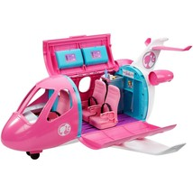 Barbie Dreamplane Transforming Playset with 15+ Themed Accessories GDG76... - $84.14