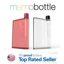 A6 MemoBottle Size 350ML Reusable Slim Classic Fashion Sport Water Bottl... - $10.79