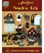 Alma Lynne's Noah's Ark in Plastic Canvas by Jeanette Crews Designs #1005 - $6.95
