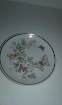 Vintage Avon  Butterflies Plate - $8.60