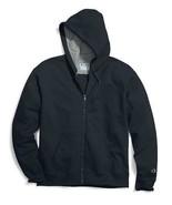 Champion Men's Powerblend Sweats Full Zip Jacket Navy cs0891-031 - $34.95