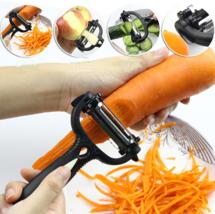 3 in 1 Multifunction 360 Degree Rotary Potato Peeler turnip Slicer Cutte... - $5.15