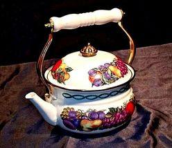 TeaPot AA18-1246 VintageCornuCopia image 4