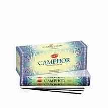 Hem Camphor Incense Sticks Hand Rolled Beautiful Natural Fragrance 120 Sticks - $16.23