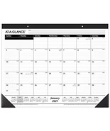 "2021 Desk Calendar by AT-A-GLANCE Monthly Desk Pad 21-3/4"" x 17"" Standar... - $10.93"