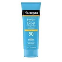Neutrogena Hydro Boost Moisturizing Sunscreen Lotion, SPF 50, 3 fl. oz.. - $21.77