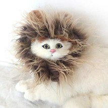 lcfun Lion Mane Costume for Cat & Dog - Pet Wig Clothes for Halloween Party - $10.40