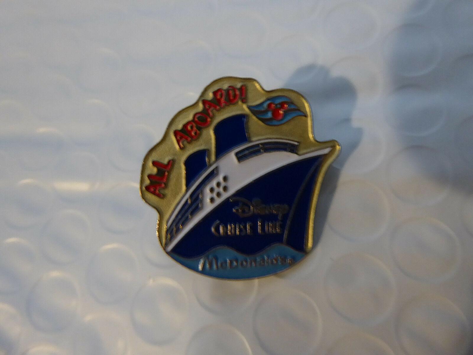Disney Trading Broches 847 Mcdonalds Disney Cruise Ligne - $7.62