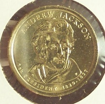 2008 P/&D John Quincy Adams One Dollar Coin Cover Limited Edition Mint code P26