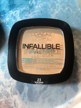 L'Oreal Paris Infallible Pro-Matte Pro-Glow Pressed Powder - 23 Nude Beige - $8.91