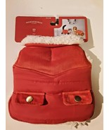 Wondershop Pet Red Puffer Vest with Corduroy Accent X-Small New - XS - E... - $10.88