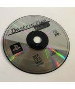 Destruction Derby (PlayStation PS1) Disc Only Video Game - $5.75