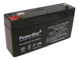 DJW6-1.2 T1 F1 6V1.3AH 6V1.4AH 6V1.2AH LP6 6V 1.3Ah SLA Battery, 2 Year ... - $9.79