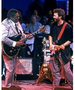 Eric Clapton B.B. King MM Vintage 8X10 Matted Color Music Memorabilia Ph... - $7.95
