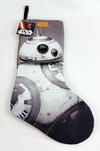 "Disney Star Wars BB-8 BB8 Christmas Holiday Stocking Droid Character 19""... - $14.70"