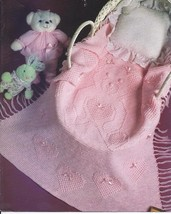RARE~I Love You Beary Much Baby Afghan Crochet Pattern~Annie's - $39.99