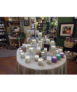 Wooden Wick Soy Candles - Wholesale Lot / 36 - Private Label Option - Ma... - $419.00