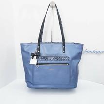 NWT Kipling TM5652 Haden Tote Shoulder Handbag Purse Metallic Scuba Dive... - $99.95