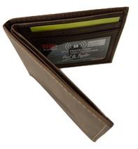 Paul & Taylor Hunter Buffalo Leather Bifold Wallet 54351 - $26.95