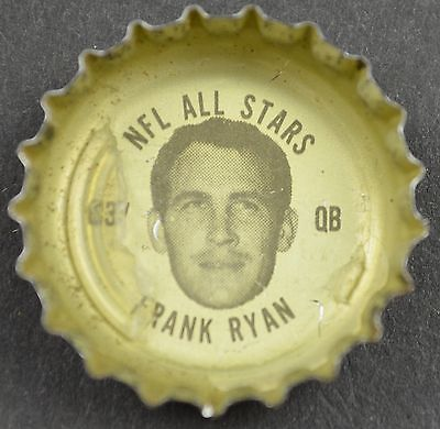 Primary image for Coca Cola NFL All Stars King Size Coke Bottle Cap Cleveland Browns Frank Ryan