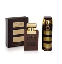 Armaf Shades Wood EDT Spray 100ml with 200 ml Deodorant, combo pack. - $36.99