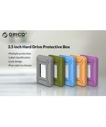 """ORICO 3.5"""" Hard Drive or SSD Protection Box Built-in Shock Pad w/Paper L... - $9.95"""