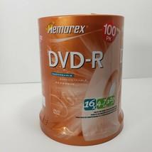 Memorex 100 pack 16X 4.7GB DVD-R Discs 120 Min Video NIP - $29.02