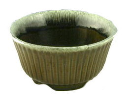 Vintage F10 Hull Green Bowl or Planter - $6.95