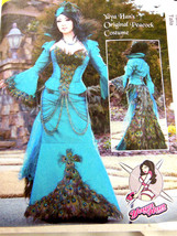 McCalls 7218 YaYa Han Original Peacock Costume corset pattern 6 8 10 12 ... - $10.88