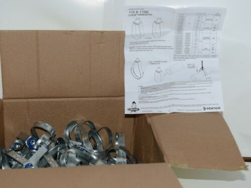 Nvent Caddy 389040 Loop Hangers 115 silver 1 1/2'' Electro Galvanized 100 pcs