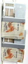 2 Count CHF Industries Farm House Rooster 56 In X 14 In Tailored Valance - $23.99