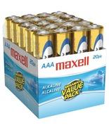 Maxell Alkaline Batteries (AAA; 20 Pk; Brick) Value Pack ! - $34.95